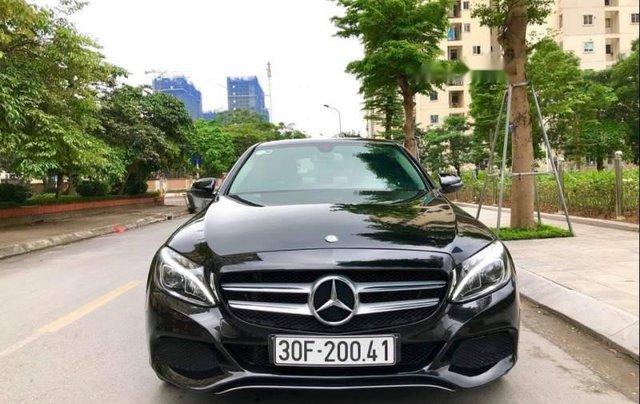 Bán Mercedes C200 2015, màu đen như mới0