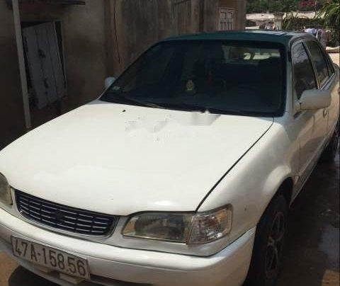 Cần bán lại xe Toyota Corolla đời 2000, màu trắng1