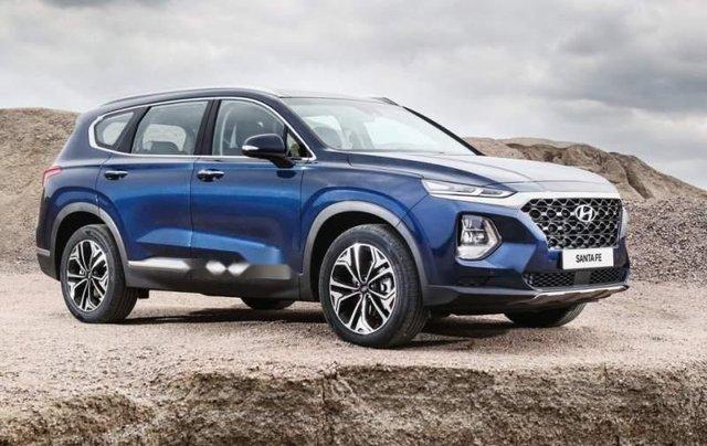 Bán xe Hyundai Santa Fe sản xuất 2019, nhập khẩu0