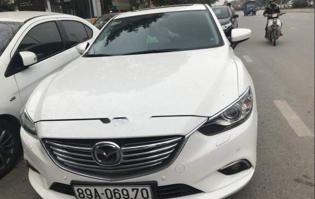 Bán xe Mazda 6 đời 2016, màu trắng, nhập khẩu  0