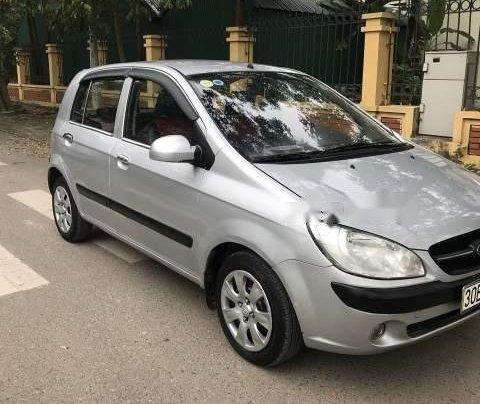 Bán lại xe Hyundai Getz 2009, màu bạc, nhập khẩu 4