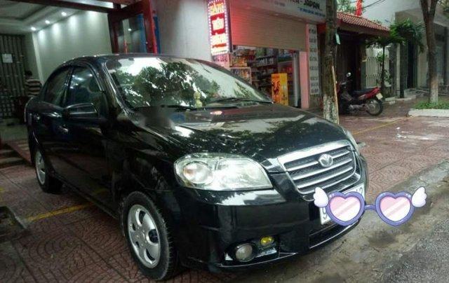 Cần bán Daewoo Gentra sản xuất 2009, màu đen, giá 161tr0