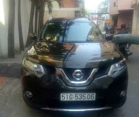 Cần bán xe Nissan X trail đời 2018, màu đen4