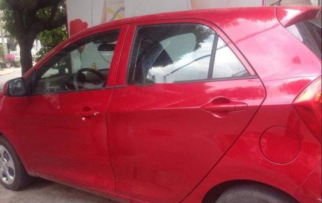 Bán xe Kia Morning năm 2017, màu đỏ0