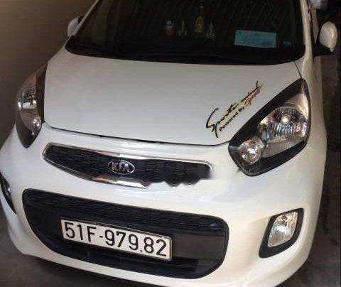 Bán xe Kia Morning đời 2016, màu trắng còn mới, 265tr0
