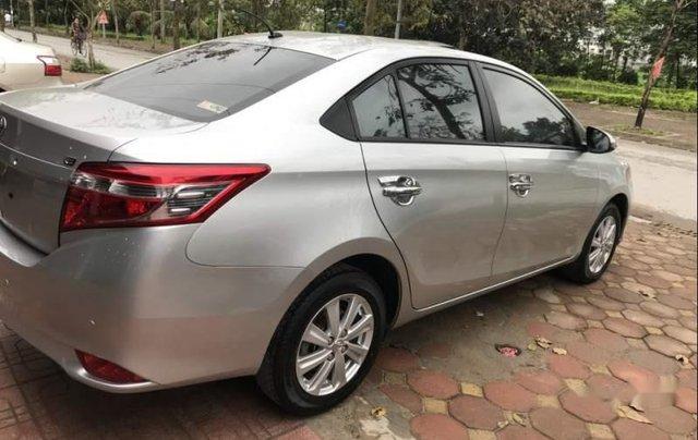 Bán Toyota Vios E sản xuất 2017, màu bạc, giá cạnh tranh2