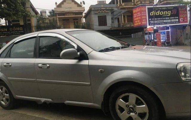 Bán xe Daewoo Lacetti 2008, màu bạc, xe gia đình 0
