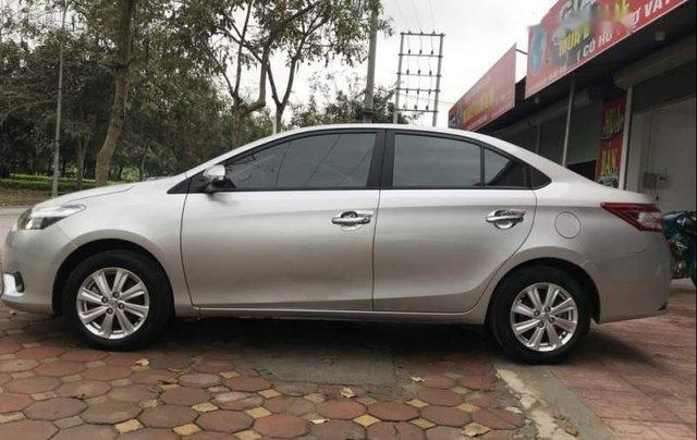Bán Toyota Vios E sản xuất 2017, màu bạc, giá cạnh tranh0