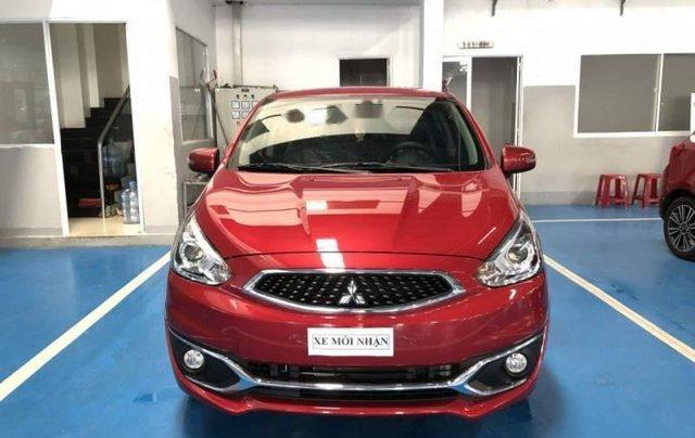 Bán xe Mitsubishi Mirage đời 2019, màu đỏ, xe nhập0