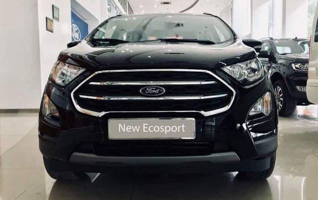 Bán ô tô Ford EcoSport sản xuất 2019, màu đen, giá 533tr0