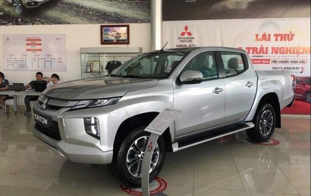 Bán Mitsubishi Triton 2019, màu bạc, nhập khẩu  1