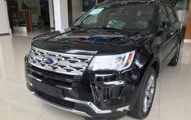 Bán xe Ford Explorer đời 2019, màu đen, nhập khẩu  1