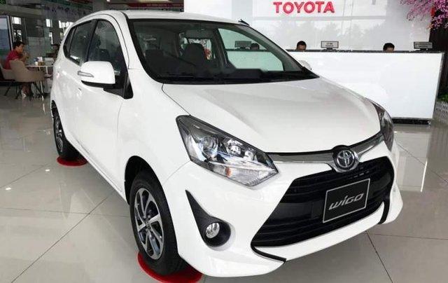 Cần bán xe Toyota Wigo năm sản xuất 2019, màu trắng, nhập khẩu nguyên chiếc, giá tốt1