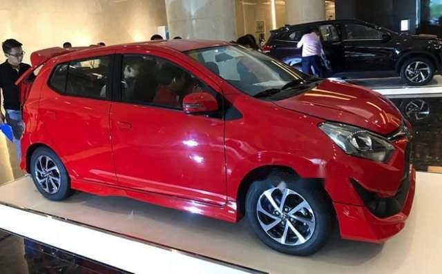 Bán ô tô Toyota Wigo năm 2019, màu đỏ, nhập khẩu nguyên chiếc2