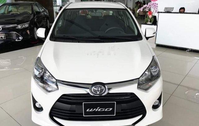 Cần bán xe Toyota Wigo năm sản xuất 2019, màu trắng, nhập khẩu nguyên chiếc, giá tốt0