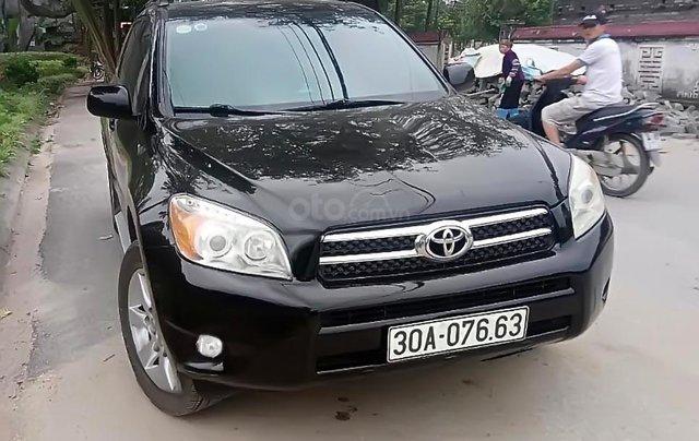 Bán Toyota RAV4 Limited 2.4 FWD sản xuất 2007, màu đen, nhập khẩu xe gia đình0