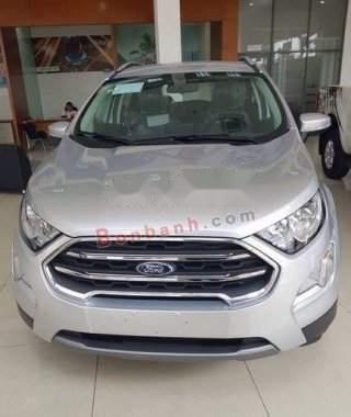 Bán Ford EcoSport Titanium 1.5L AT 2019, màu bạc, giá 605tr1