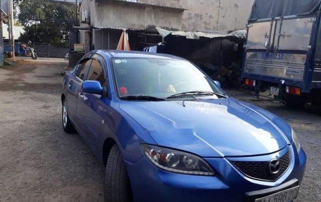 Bán Mazda 3 năm sản xuất 2004, màu xanh lam, xe nhập0