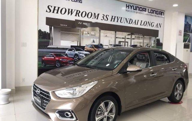 Bán xe Hyundai Accent sản xuất 2019, màu nâu3