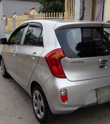 Cần bán lại xe Kia Morning 2013, màu bạc, nhập khẩu nguyên chiếc0