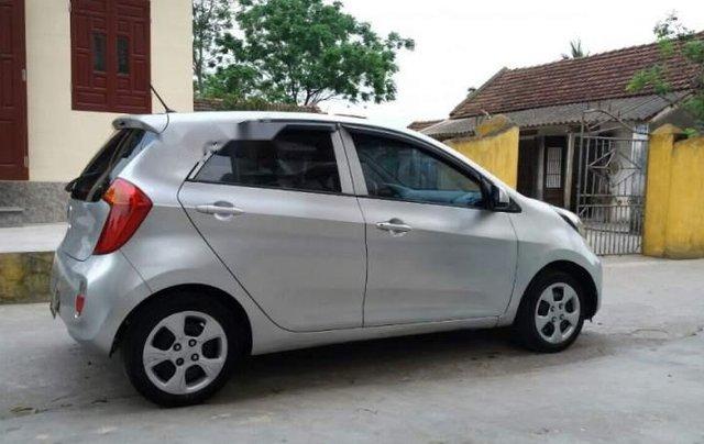 Cần bán lại xe Kia Morning 2013, màu bạc, nhập khẩu nguyên chiếc5