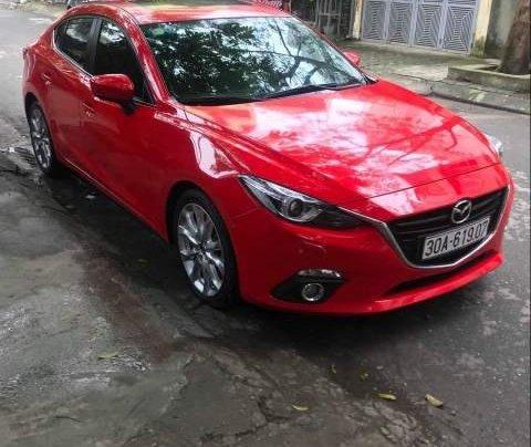 Bán Mazda 3 2.0AT đời 2015, màu đỏ, nhập khẩu 0