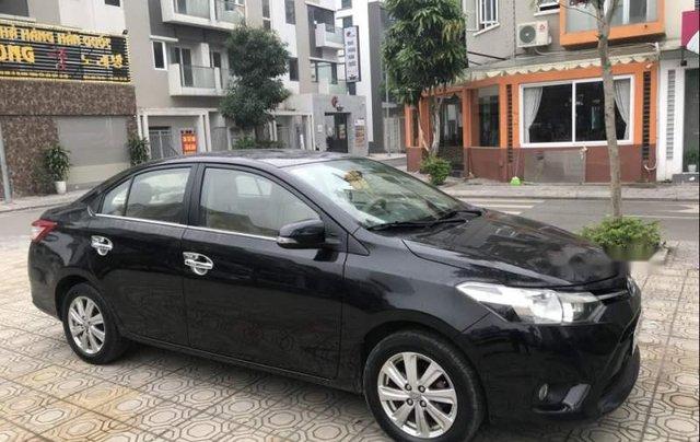 Cần bán gấp Toyota Vios 2015, màu đen chính chủ, giá 410tr0