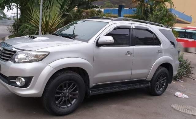 Bán xe Toyota Fortuner sản xuất năm 2016, màu bạc, nhập khẩu  0