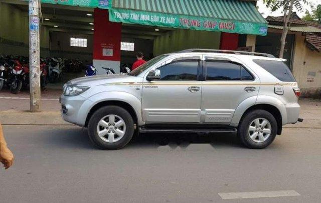 Cần bán lại xe Toyota Fortuner 2009, màu bạc, xe nhập xe gia đình, 495 triệu0