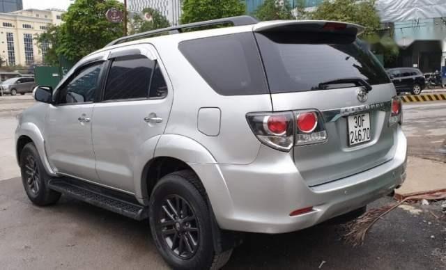 Bán xe Toyota Fortuner sản xuất năm 2016, màu bạc, nhập khẩu  2