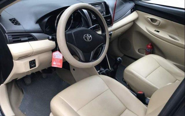 Cần bán gấp Toyota Vios 2015, màu đen chính chủ, giá 410tr2