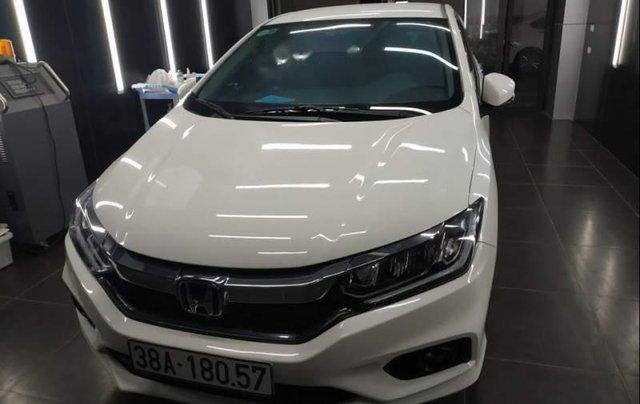Cần bán xe cũ Honda City đời 2018, màu trắng0