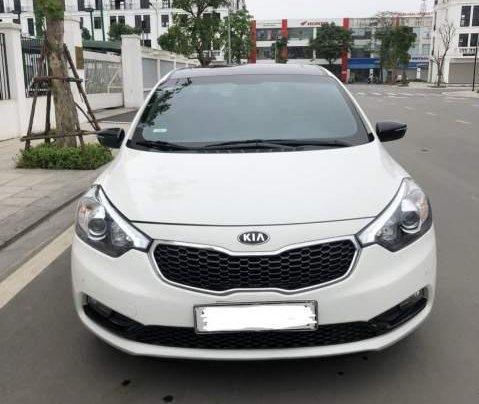 Bán xe cũ Kia K3 2.0 sản xuất 2015, màu trắng, 545tr0