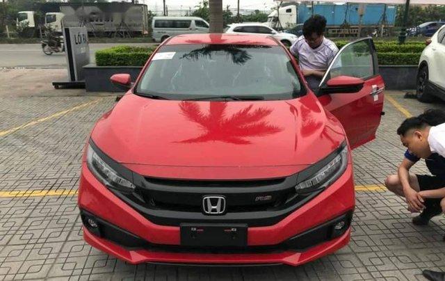 Bán xe Honda Civic 2019, màu đỏ0