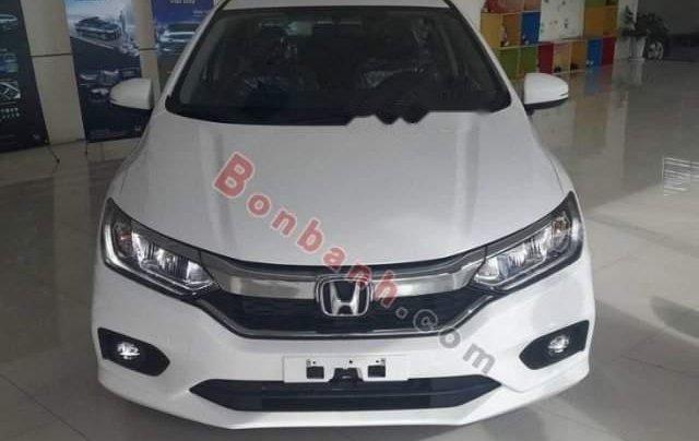 Bán xe Honda City 1.5TOP đời 2019, màu trắng0