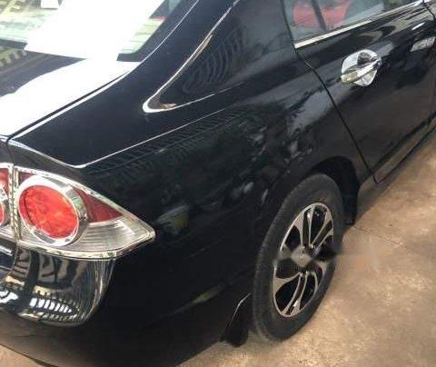 Bán Honda Civic năm sản xuất 2008, màu đen 3