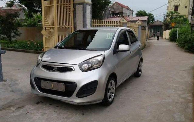 Cần bán lại xe Kia Morning 2013, màu bạc, nhập khẩu nguyên chiếc3