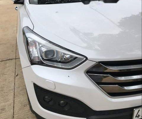 Bán xe Hyundai Santa Fe đời 2015, màu trắng, giá tốt1