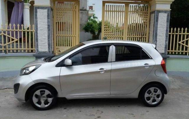 Cần bán lại xe Kia Morning 2013, màu bạc, nhập khẩu nguyên chiếc4