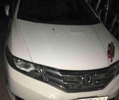 Bán xe Honda City sản xuất năm 2014, màu trắng còn mới, 410tr1