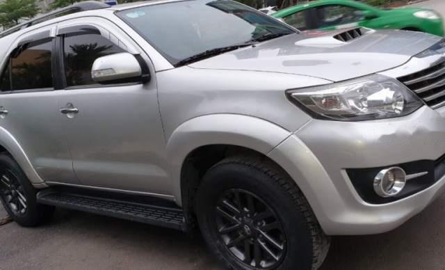 Bán xe Toyota Fortuner sản xuất năm 2016, màu bạc, nhập khẩu  1