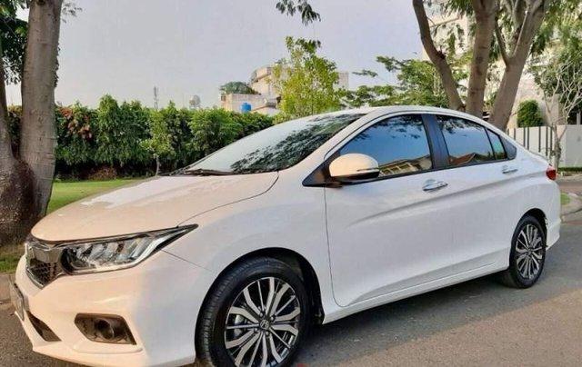 Cần bán gấp Honda City 1.5 Top sản xuất năm 2019, màu trắng như mới1