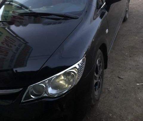 Bán Honda Civic năm sản xuất 2008, màu đen 4