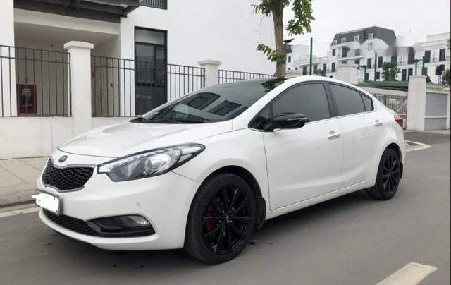 Bán xe cũ Kia K3 2.0 sản xuất 2015, màu trắng, 545tr1