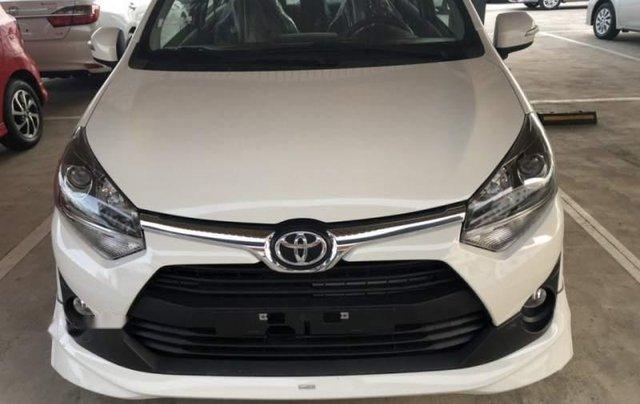 Bán Toyota Wigo 1.2AT sản xuất năm 2019, màu trắng, nhập khẩu0