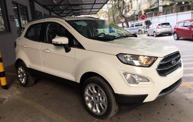 Bán Ford EcoSport đời 2019, màu trắng1