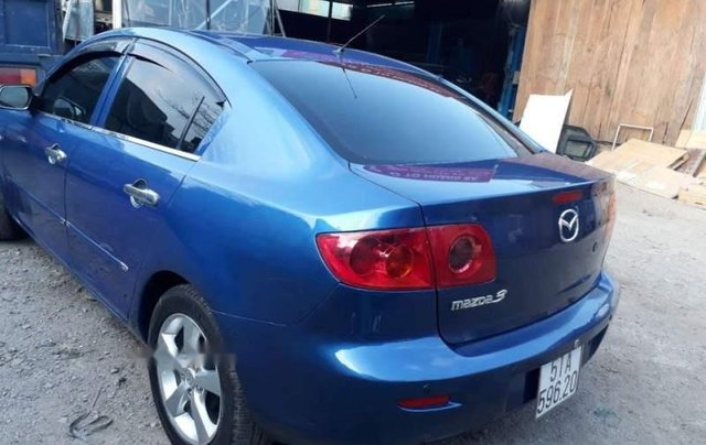 Bán Mazda 3 năm sản xuất 2004, màu xanh lam, xe nhập1