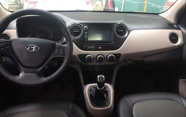Bán ô tô Hyundai Grand i10 đời 2017, màu bạc, nhập khẩu nguyên chiếc số sàn, giá tốt4