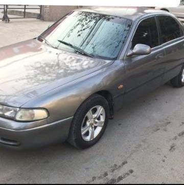 Cần bán Mazda 626 năm 1992, màu xám, nhập khẩu nguyên chiếc