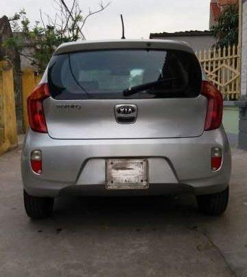 Cần bán lại xe Kia Morning 2013, màu bạc, nhập khẩu nguyên chiếc1